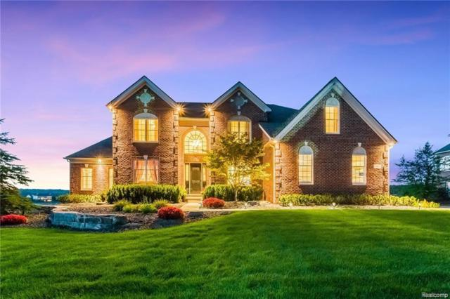 1462 Hunters Lake Drive, Milford Twp, MI 48380 (#218043834) :: Duneske Real Estate Advisors