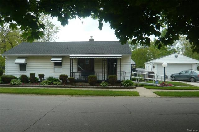 1380 Central Street, Inkster, MI 48141 (#218043955) :: RE/MAX Classic