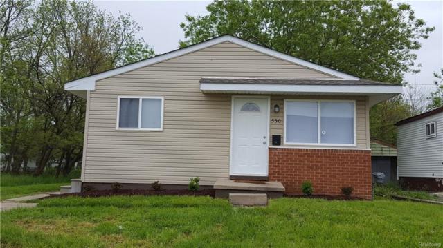 550 Luther Avenue, Pontiac, MI 48341 (#218044182) :: Duneske Real Estate Advisors