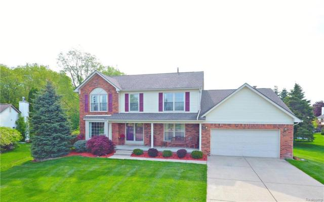 763 Banbury Court, Milford Vlg, MI 48381 (#218044194) :: Duneske Real Estate Advisors
