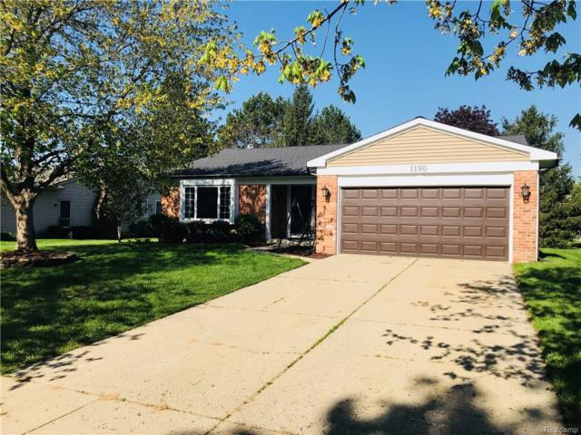 1196 Meadowlark, Waterford Twp, MI 48327 (#218044223) :: RE/MAX Classic