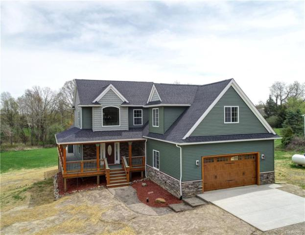 5233 Pleasant Lake Road, Marion Twp, MI 48843 (#218044616) :: The Buckley Jolley Real Estate Team