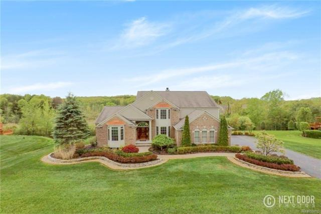 9042 Ridgefield Drive, Brighton Twp, MI 48114 (#218044751) :: The Mulvihill Group