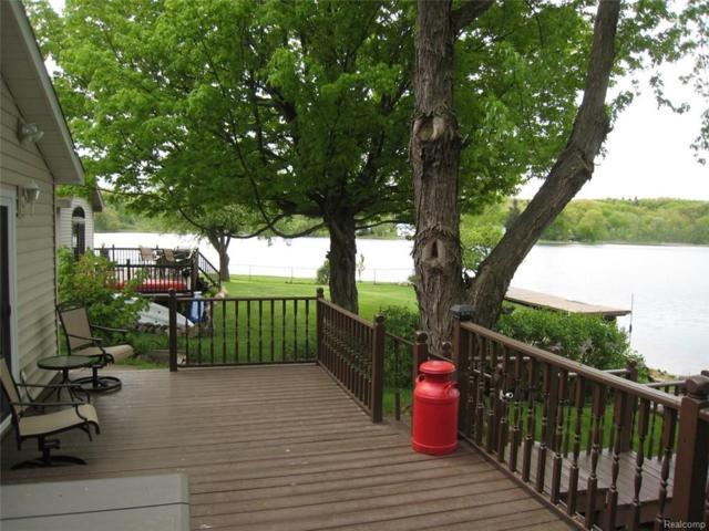 3604 E Lake Drive, Metamora Twp, MI 48455 (#218044795) :: RE/MAX Classic