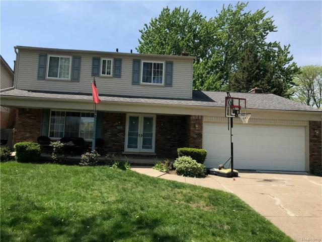 21655 Eastbrook Court, Grosse Pointe Woods, MI 48236 (#218044970) :: RE/MAX Classic
