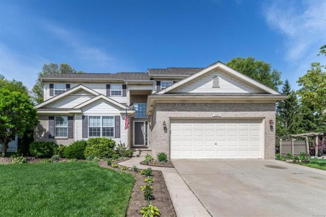 2345 Matthew Court, Hartland Twp, MI 48353 (#543257081) :: The Buckley Jolley Real Estate Team