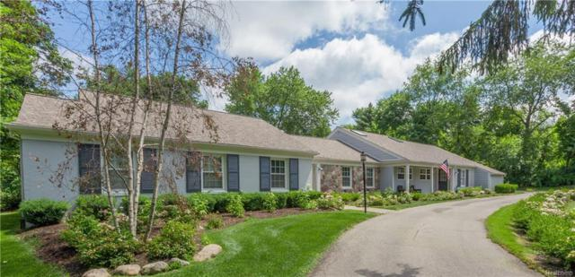 4895 Ardmore Drive, Bloomfield Twp, MI 48302 (#218045852) :: The Mulvihill Group
