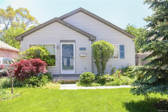 23106 Hazelwood Avenue, Hazel Park, MI 48030 (#218046066) :: RE/MAX Classic