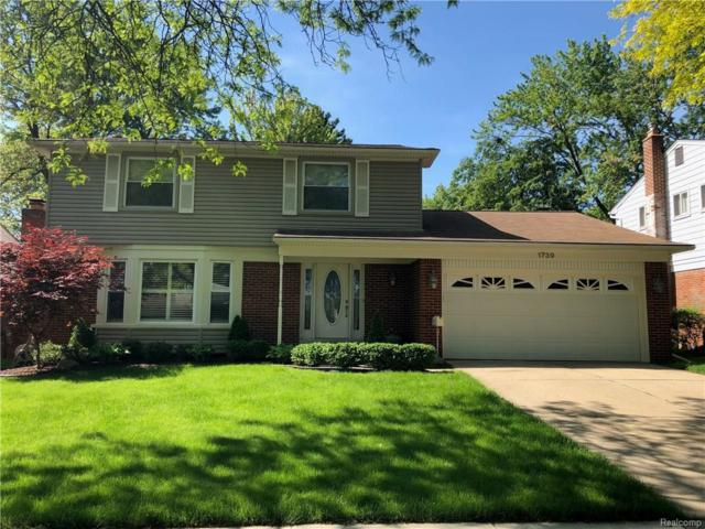 1739 Nantucket Road, Plymouth, MI 48170 (#218046405) :: RE/MAX Classic