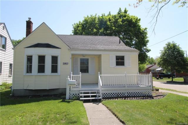2863 Vassar Street, Dearborn, MI 48124 (#218046443) :: RE/MAX Classic