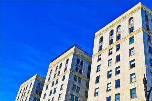 15 E Kirby #617 Street #617, Detroit, MI 48202 (#218046525) :: RE/MAX Classic