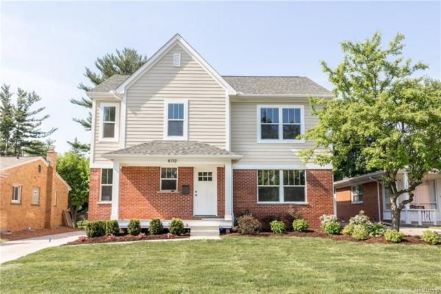 602 Magnolia Avenue, Royal Oak, MI 48073 (#218047354) :: Duneske Real Estate Advisors