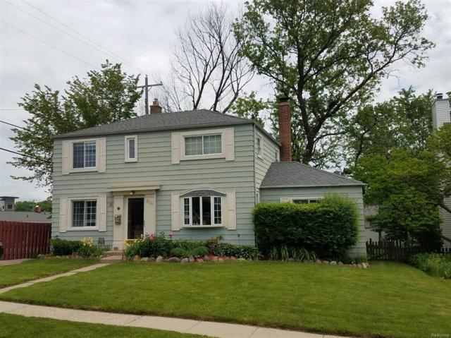 316 N Holbrook Street, Plymouth, MI 48170 (#543257288) :: RE/MAX Classic