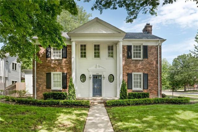 1100 Grayton Street, Grosse Pointe Park, MI 48230 (#218048909) :: Duneske Real Estate Advisors