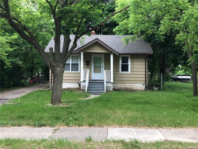 800 Emerson Avenue, Pontiac, MI 48340 (#218048927) :: Duneske Real Estate Advisors