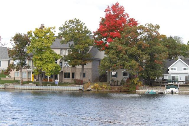 550 North Shore Court, Lake Orion Vlg, MI 48362 (#218049624) :: RE/MAX Classic