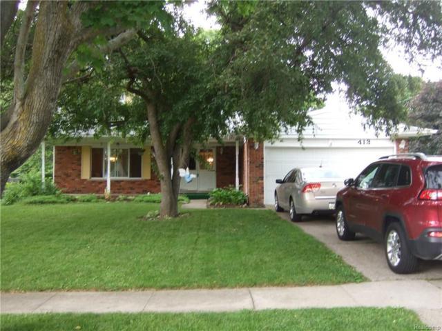 413 Sleepy Hollow Drive, Flushing, MI 48433 (#218049746) :: Duneske Real Estate Advisors