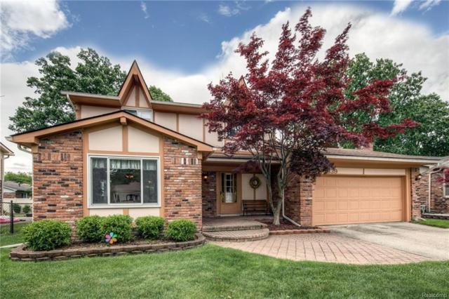43639 Westminister Way, Canton Twp, MI 48187 (#218050378) :: RE/MAX Classic