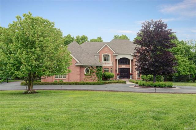 1340 Valley Crest Court, Milford Twp, MI 48381 (MLS #218050632) :: The Toth Team
