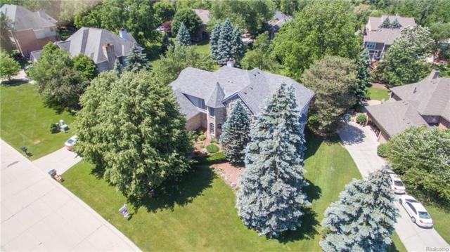 17708 Rolling Woods Circle, Northville Twp, MI 48168 (#218052766) :: RE/MAX Classic