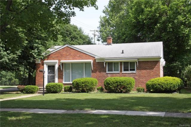 1136 W Webster Road, Royal Oak, MI 48073 (#218052794) :: Duneske Real Estate Advisors
