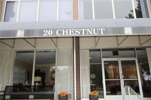20 Chestnut St. Unit #707 Street, Wyandotte, MI 48192 (#218052977) :: RE/MAX Classic