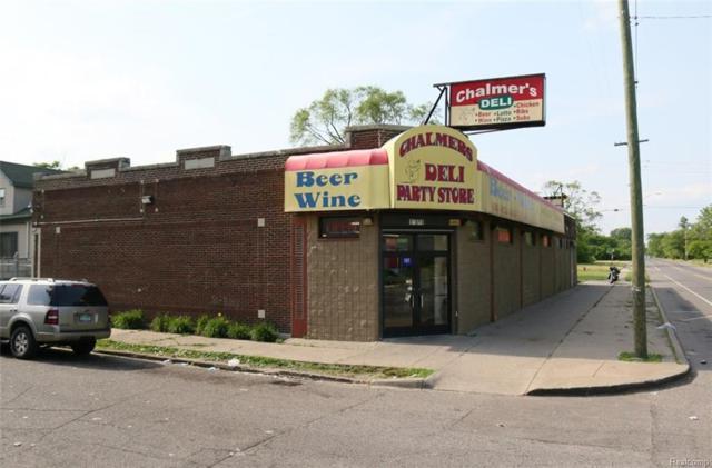 12501 Chalmers Street, Detroit, MI 48205 (MLS #218053013) :: The Toth Team