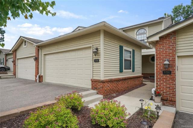 5758 Drake Hollow #3, West Bloomfield Twp, MI 48322 (#218055074) :: RE/MAX Classic