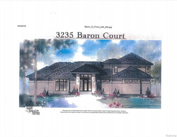 3235 Baron Court, Bloomfield Twp, MI 48302 (#218055092) :: RE/MAX Classic