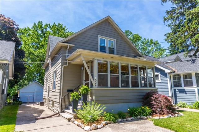 524 E Hudson Avenue, Royal Oak, MI 48067 (#218055203) :: RE/MAX Vision