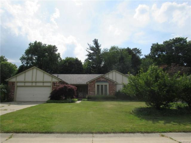 1726 Black Maple Drive, Rochester Hills, MI 48309 (#218055569) :: RE/MAX Vision