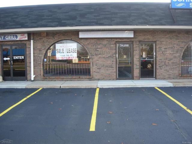 34356 Utica Road, Fraser, MI 48026 (MLS #58031351175) :: The Toth Team