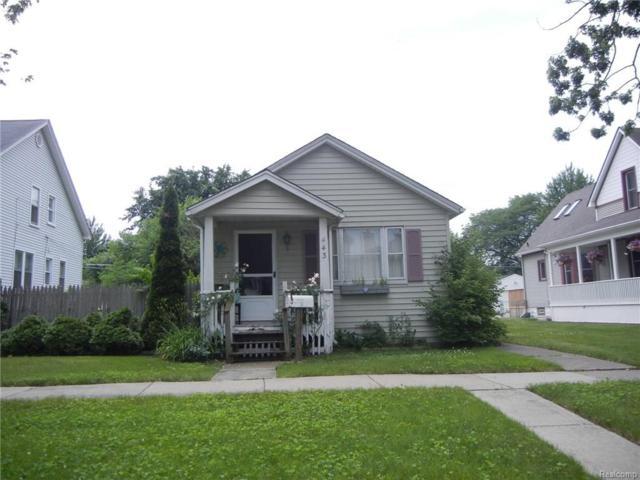 443 Orange Street, Wyandotte, MI 48192 (#218056372) :: RE/MAX Classic