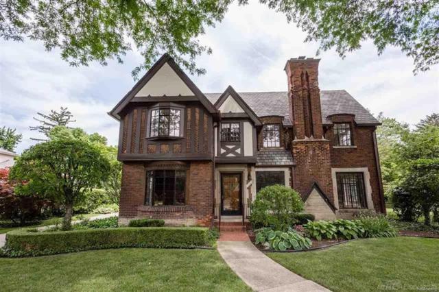 716 Berkshire, Grosse Pointe Park, MI 48230 (#58031352332) :: Duneske Real Estate Advisors