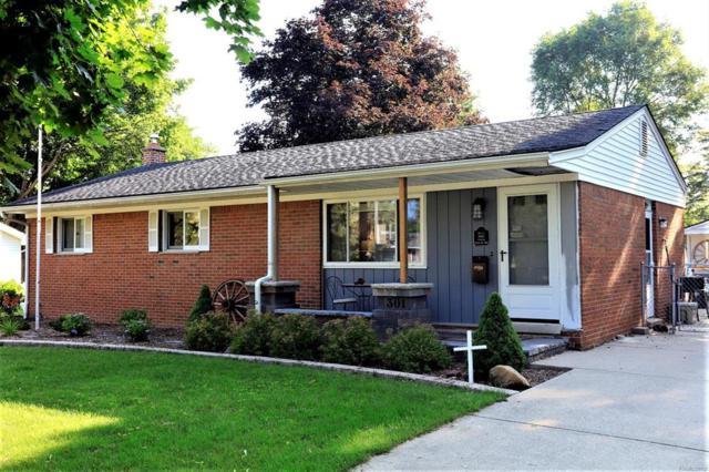 301 Nichols Drive, Saline, MI 48176 (#543258213) :: Duneske Real Estate Advisors