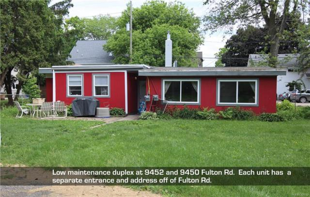 9452 Fulton Road, Green Oak Twp, MI 48189 (#218061220) :: The Buckley Jolley Real Estate Team
