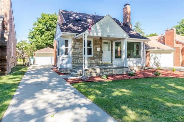 435 Robindale Avenue, Dearborn, MI 48128 (#218062598) :: Duneske Real Estate Advisors