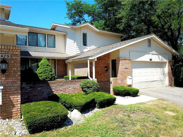 7481 Pebble Lane, West Bloomfield Twp, MI 48322 (#218063213) :: RE/MAX Classic