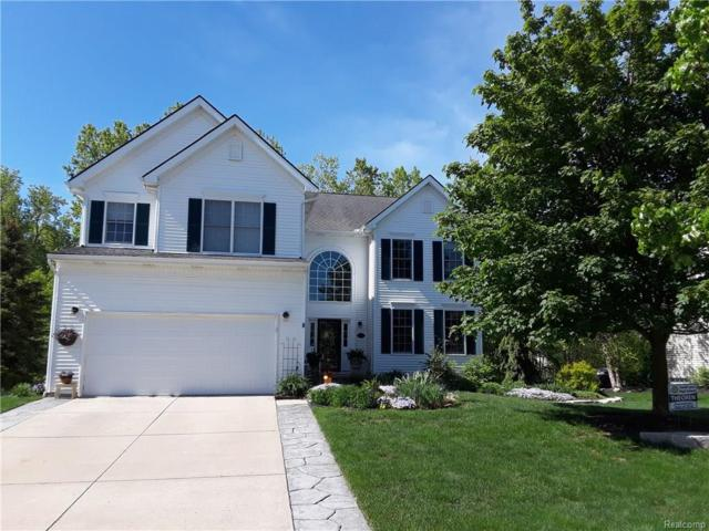 1101 Polo Drive, South Lyon, MI 48178 (#218064475) :: Duneske Real Estate Advisors