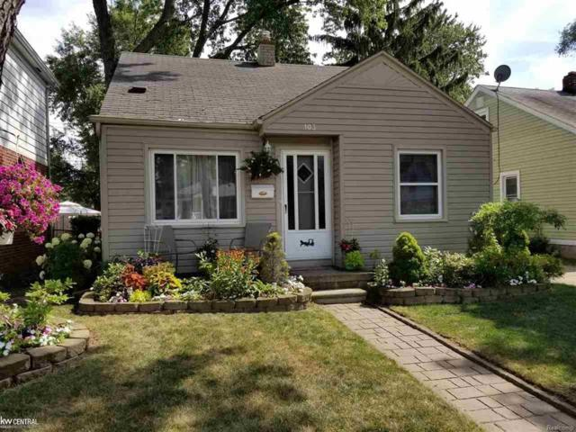 103 W Mapledale Ave, Hazel Park, MI 48030 (#58031353574) :: RE/MAX Nexus