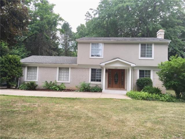6481 Willow Road, West Bloomfield Twp, MI 48324 (#218064748) :: RE/MAX Classic