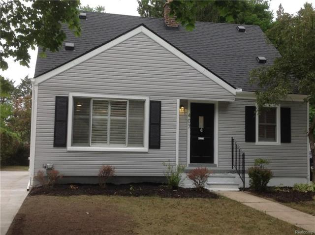407 N Kenwood Avenue, Royal Oak, MI 48067 (#218065526) :: RE/MAX Vision