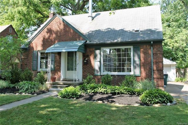 1417 N Maple Avenue, Royal Oak, MI 48067 (#218065597) :: RE/MAX Vision