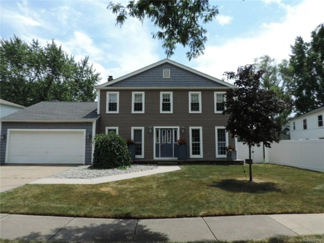 4826 Chadbourne Drive, Sterling Heights, MI 48310 (#218066007) :: RE/MAX Classic