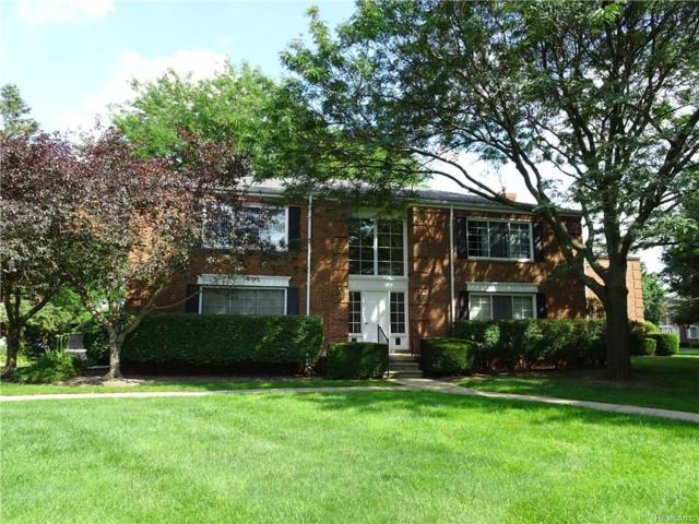 743 E Fox Hills Drive #177, Bloomfield Twp, MI 48304 (#218066008) :: RE/MAX Classic