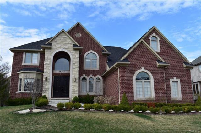 48348 Binghampton Drive, Northville Twp, MI 48168 (#218066206) :: Duneske Real Estate Advisors