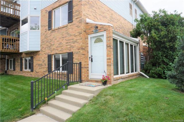 143 Pinewood Circle, Plymouth, MI 48170 (#218067825) :: Duneske Real Estate Advisors