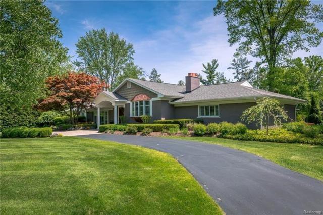 3995 Oakland Drive, Bloomfield Twp, MI 48301 (#218067831) :: Duneske Real Estate Advisors