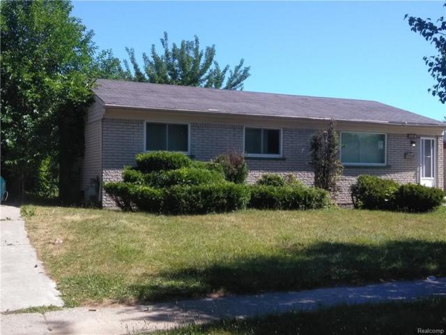 3518 Burns Street, Inkster, MI 48141 (#218068048) :: RE/MAX Classic