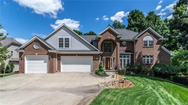 8882 Lake Bluff Drive, Brighton Twp, MI 48114 (MLS #218068086) :: The Toth Team